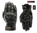 Перчатки кожаное shima aviator black gratisy