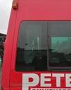 Ford transit mk7 vii 06- стекло боковая правый зад