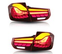 Фары задние led bmw f30 f35 13-19 комплект красные