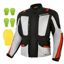 Shima hero grey red куртка мотоциклетная 3w1 gratisy