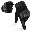 Перчатки мотоциклетные рукавицы dotykowe черный xl