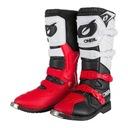 Ботинки на мотоцикл enduro красные oneal rider 47