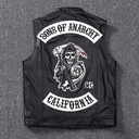 Желетка мотоциклетная sons of anarchy s m xxl