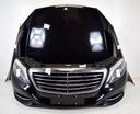 Mercedes s klasa w222 капот крышка двигателя