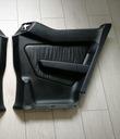 Mercedes w124 coupe правый боковина зад черная кожа