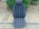 Mercedes 190/ w201 сиденье черная jodelka 061 kierowc