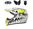 Шлем мотоциклетный enduro motocross xl