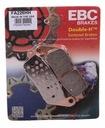 Колодки ebc honda cbr 600 11-13 перед metaliczne