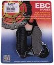 Колодки гальмівні ebc honda vt125 shadow 1999-2008