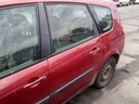 Renault grand scenic ii двери левое зад задние teb76