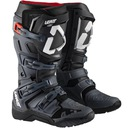 Черное ботинки с zawiasem на мотоцикл leatt 4.5 44, 5