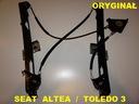Seat altea - подъемник стекла перед левый оригинал