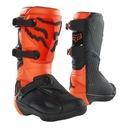 Ботинки fox junior comp orange pomaranczowy gratisy