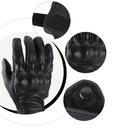 Перчатки l мотоциклетные кожаное рукавицы motor