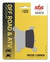 Колодки тормозные sbs 604cs ajp pr5 supermotard250