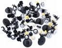 Renault dacia заклепки kolki подкрылки комплект