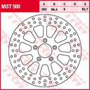 Trw lucas mst500 диск тормозная перед