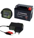 Аккумулятор agm moretti 12v 4ah ytx4l-bs зарядка