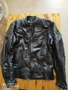 Куртка кожанная мотоциклетная white wings