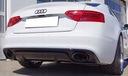 Audi a5 sportback coupe диффузор rs-look 2012-16