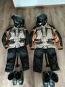 Куртка, штаны termoaktywne 2x, шлем 2x, ботинки 2x