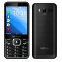 Telefon myPhone Up Smart 0,5/4 GB czarny