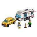 Lego City Samochód z przyczepą kempingową 4435