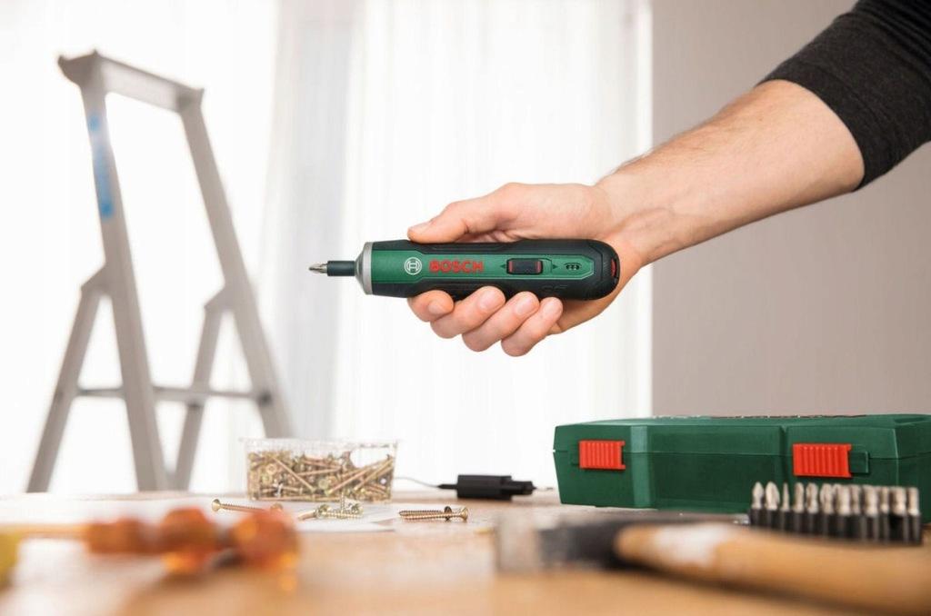 Bosch pushdrive cordless screwdriver 21mm hole saw