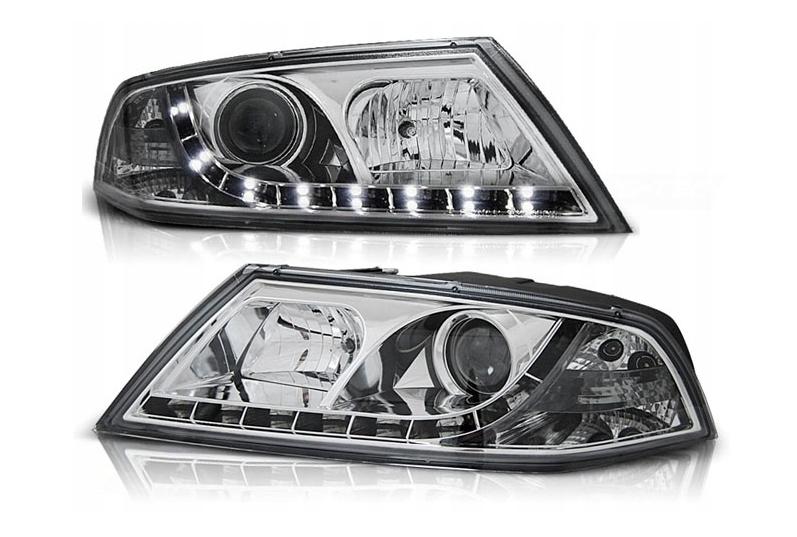 Skoda octavia xenon headlights riveting tools