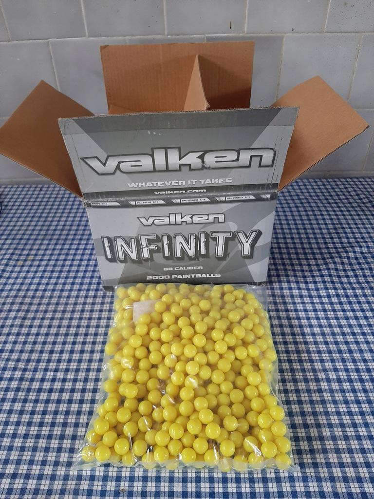 Kulki do paintball Valken INFINITY