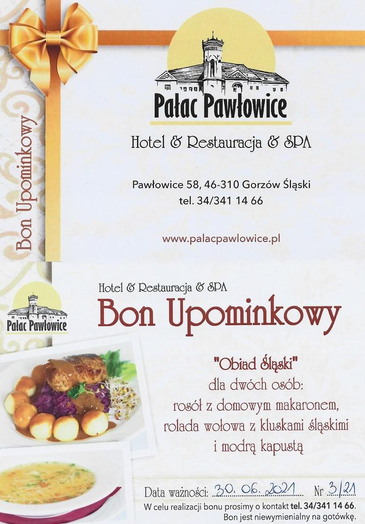 Bon Upominkowy Pałac Pawłowice 3/21