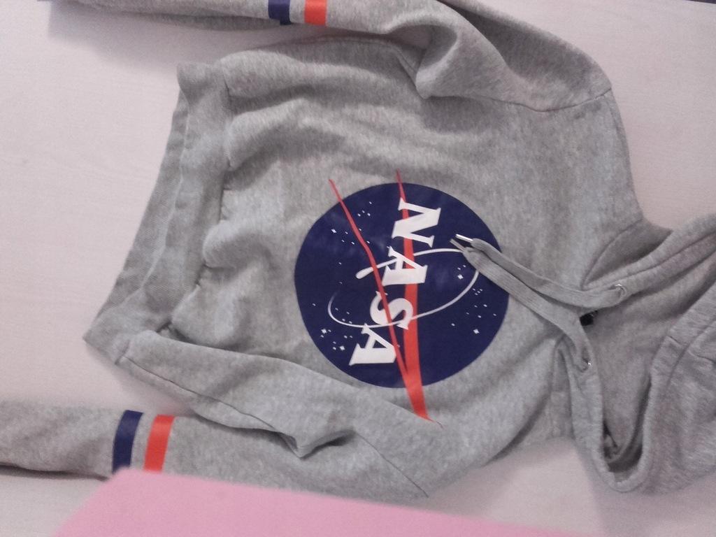Obledna bluza damska NASA jak nowa