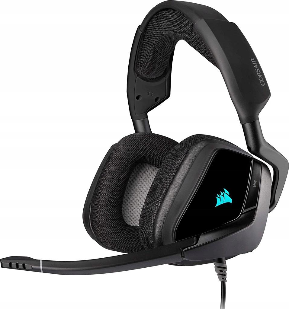 Słuchawki Corsair VOID ELITE RGB USB do gier 7.1