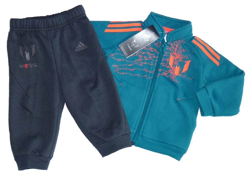 adidas Nowy dres dziecięcy bawełna MESSI - 74