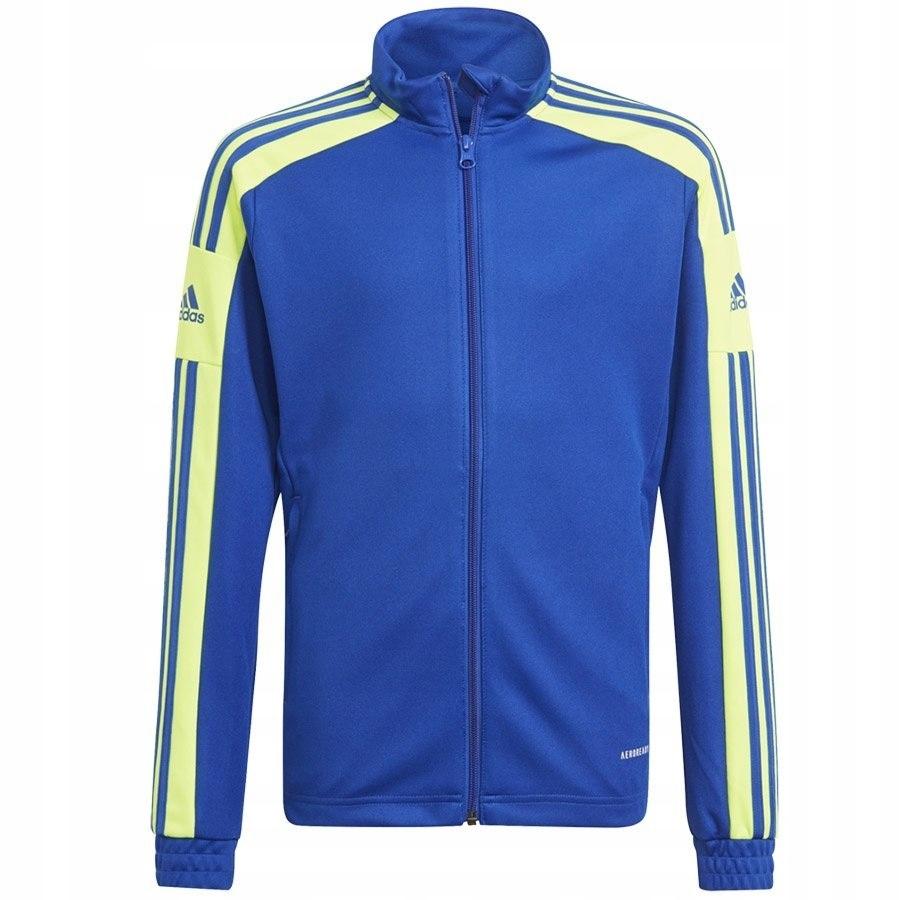 Bluza chłopięca treningowa adidas niebieska 176 cm
