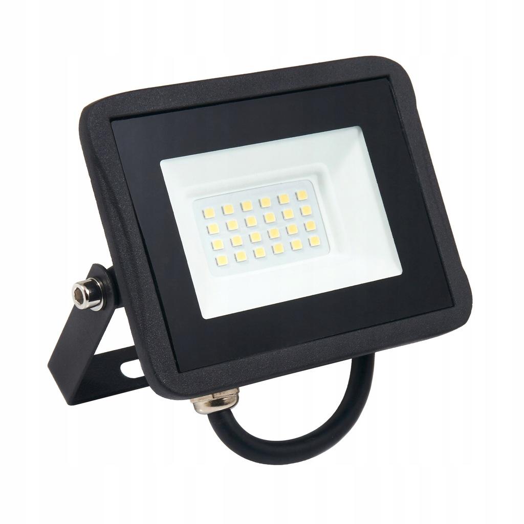 Halogen Lampa Naświetlacz reflektor LED 20W neutra