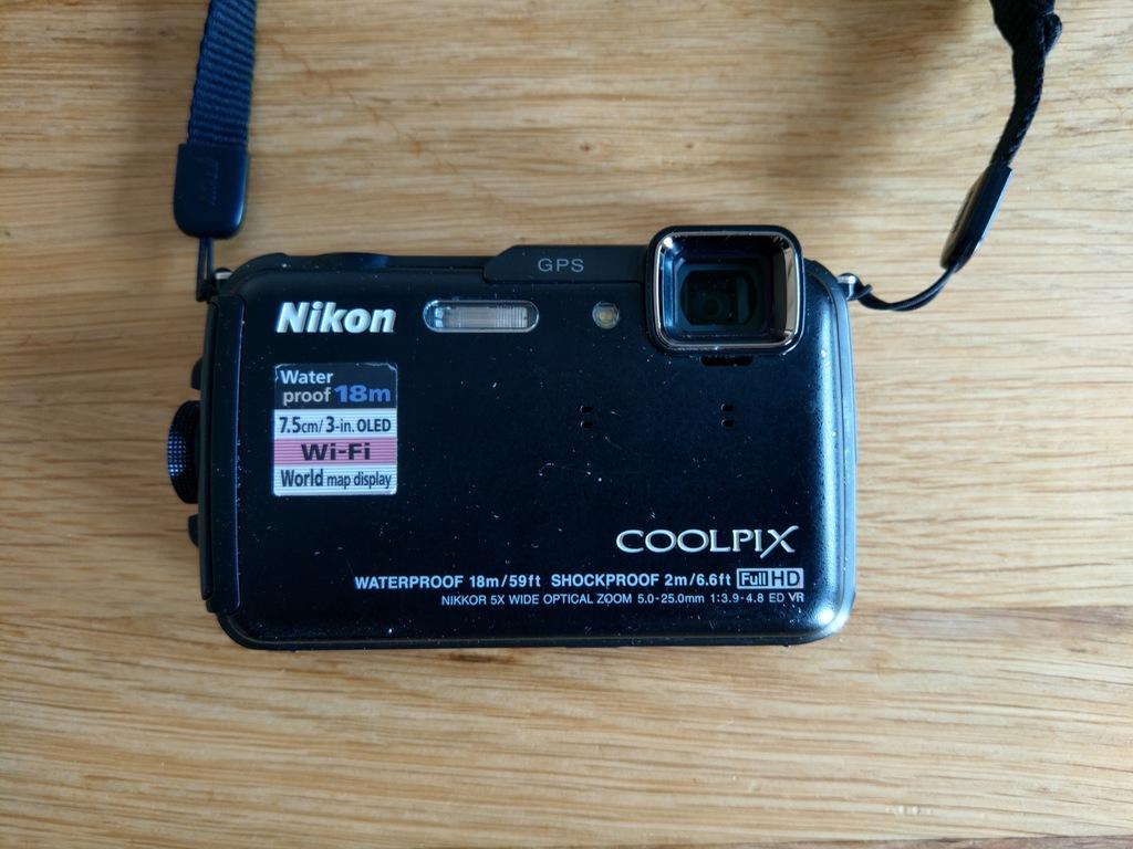 Nikon Coolpix AW110, wodoodporny, WiFi, GPS