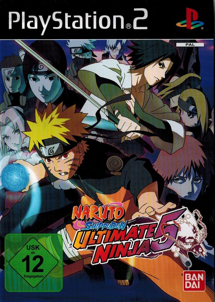 Gra na PS2 Naruto Shippuden Ultimate Ninja 5 BOX - 7978789434 - oficjalne  archiwum Allegro