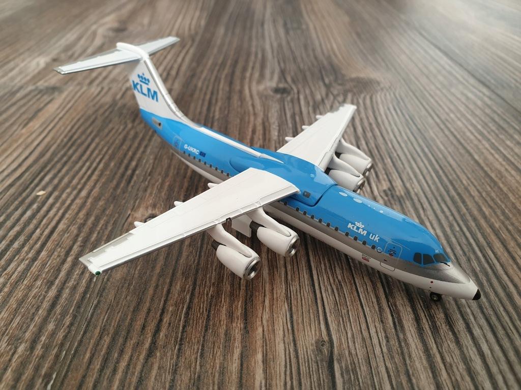 BAe 146 KLM