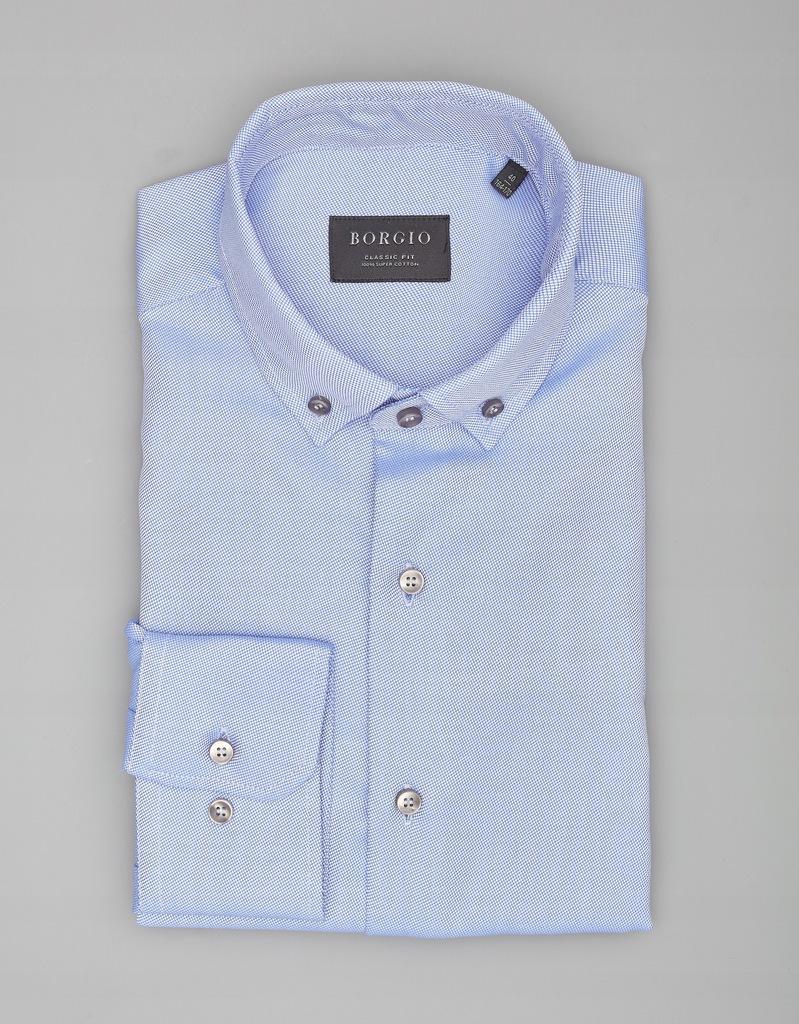 koszula męska fasano CF niebie 00210 r.176/182 46