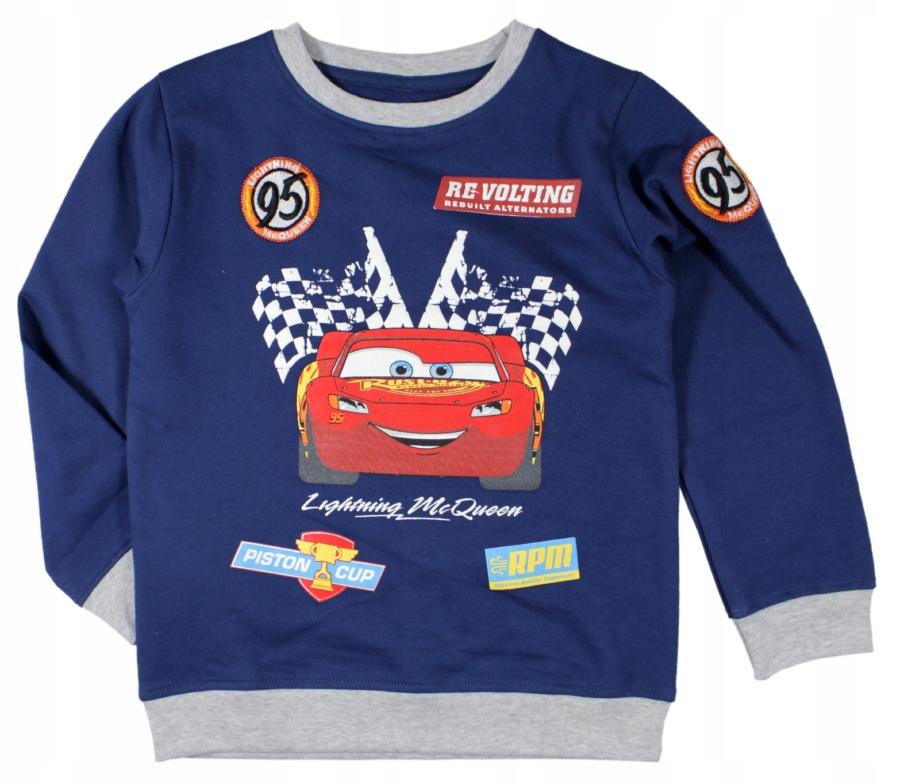 Bluza bluzka Auta Cars Zygazk 128