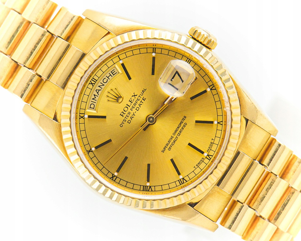 ROLEX DAY DATE PRESIDENT 18K GOLD REF.18238