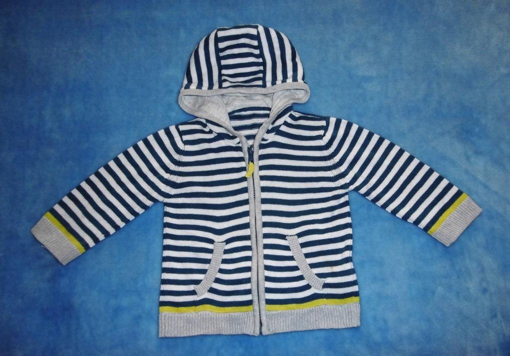Sweter chłopiec roz 80 cm M&S