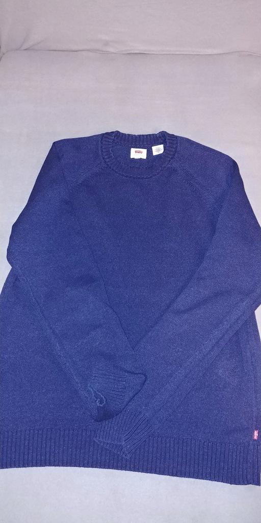 Sweter Levis indygo rozmiar L