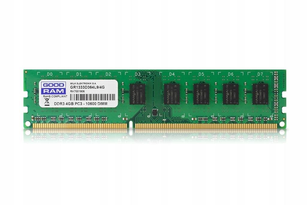 GOODRAM DDR3 4GB/1333 512*8 Single Rank