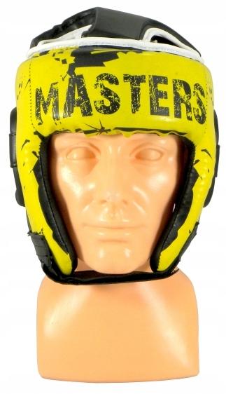 Kask turniejowy ochraniacz głowy KTOP-PU-MASTERS M