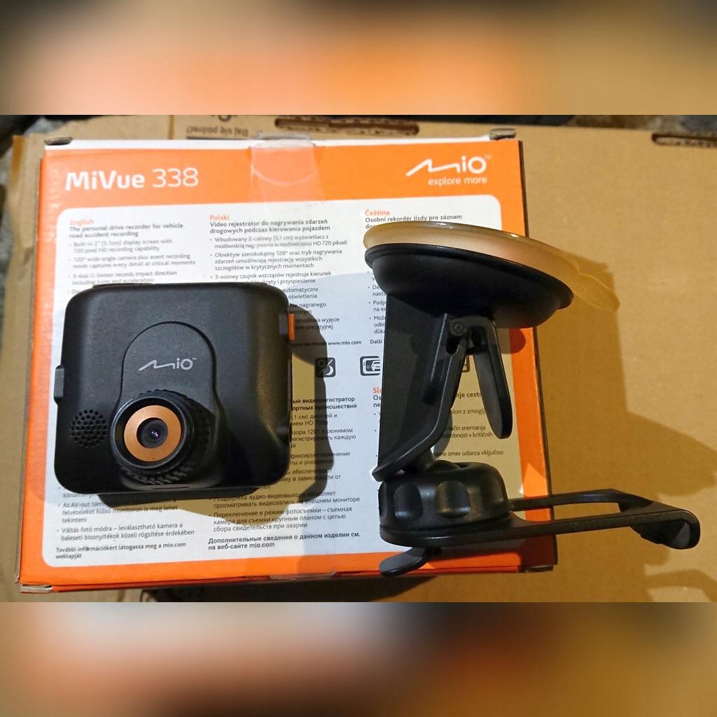Mio MiVue 338 kamera rejestrator samochodowy