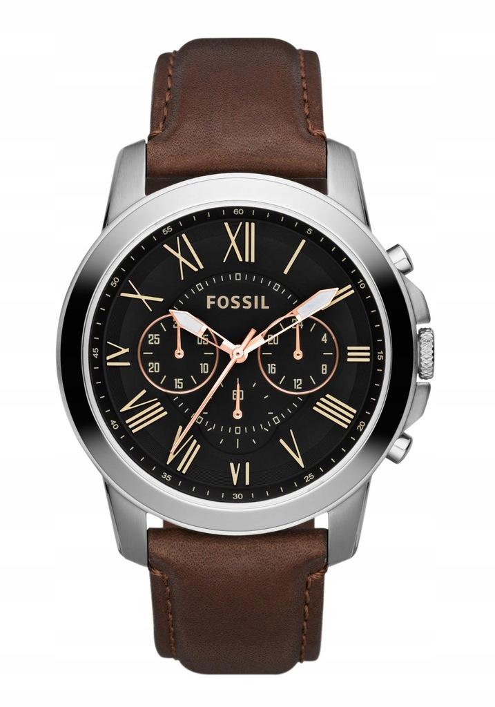 Zegarek FOSSIL FS4813 casual GRANT chronograf