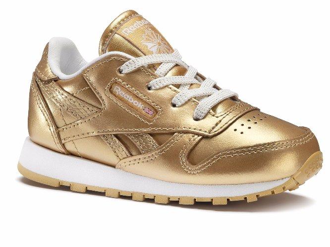 REEBOK CLASSIC Reebok Classic Leather Metallic Sneakersy