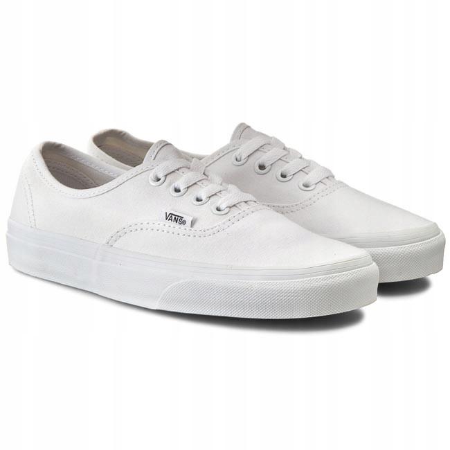 buty VANS Authentic BlackTrue White (BLK 8) rozmiar: 40.5